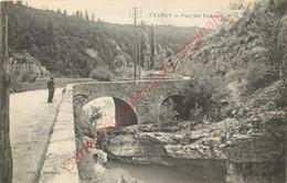 74.  FRANGY .  Pont Des Douanes . - Frangy