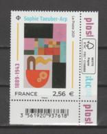 FRANCE / 2021 / Y&T N° 5492 ** : Sophie Taeuber-Arp X 1 CdF Inf D FSC Avec Code-barres - Neufs