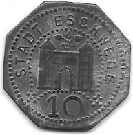 *notgeld   Eschwege  10 Pfennig   ND   Zn 121.2 - Other