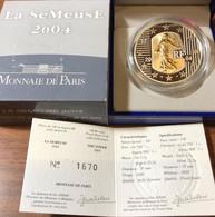 France France 2004 5 € La Semuse Ag-au - France