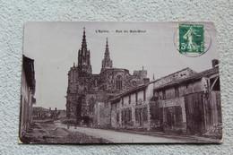 Cpa 1908, L'Epine, Rue Du Bas Bout, Marne 51 - L'Epine