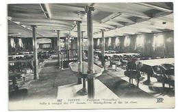 """76 - DIEPPE - Paquebot """"VERSAILLES"""" - Salle à Manger - CPA - Dieppe"""