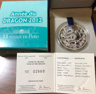Francia France 2012 10 € Année Du Dragon - France