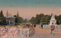 225 – Vintage 1917 - Italia Italy - Ravenna Piazzale Stazione – Animation – Good Condition – 2 Scans - Ravenna