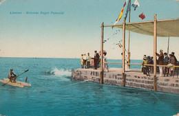 228 – Vintage - Italia Italy – Livorno Livourne – Rotonda Bagni Pancaldi – Written 1920 – Good Condition – 2 Scans - Livorno