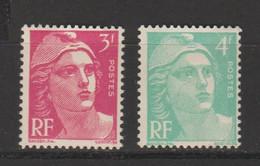Marianne De Gandon 2e Série N°806-807-808-809-810-811-812-813 - 1945-54 Marianna Di Gandon