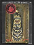 Santino/reliquia: VERGINE LAURETANA - Loreto - Velo - Dimensioni: Mm. 57 X 100 - Religione & Esoterismo