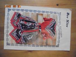 Bandana Pattern 10137 Lettuce Edge Dress - Bee Hive (Austin, Texas) Couture - Hobby Creativi