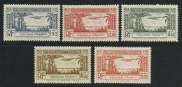 SOUDAN FRANCAIS 1940 YT PA 1/5** - SERIE COMPLETE - Nuevos