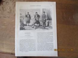 LES MISSIONS CATHOLIQUES DU 2 NOVEMBRE 1883 SYRIE SOLDATS TURCS DE GHAZIR,CONSTANTINOPLE,FLORE DE LA CÔTE DES ESCLAVES - Riviste - Ante 1900