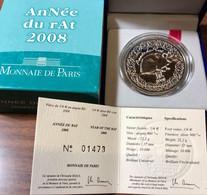 Francia France 2008 1/4 0,25 € Année Du Rat - France