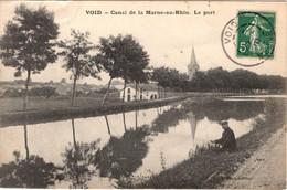 55 VOID - Canal De La Marne-au-Rhin - Le Port - Altri Comuni