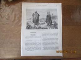 LES MISSIONS CATHOLIQUES DU 9 NOVEMBRE 1883 SYRIE CHRETIENS DU KESROUAN,AFRIQUE OCCIDENTALE CÔTE DES ESCLAVES FLORE - Riviste - Ante 1900