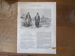 LES MISSIONS CATHOLIQUES DU 23 NOVEMBRE 1883 LIBAN TYPES DE CAVAS OU JANISSAIRES,DE BIRMANIE AU YUN-NAN,CARTE DE BHAMO A - Riviste - Ante 1900
