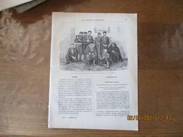 LES MISSIONS CATHOLIQUES DU 7 DECEMBRE 1883 BULGARIE TYPES BULGARES FEMME BULGARE,ROUMELIE VUE D'ANDRINOPLE,DE ZEILHA A - Revistas - Antes 1900