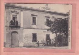 OLD POSTCARD - ITALY -    FORIO D'ISCHIA - UFFICO POSTALE - Napoli (Napels)