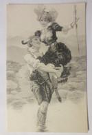 Künstlerkarte, Frauen, Männer, Mode,  1900 ♥ (29744) - 1900-1949