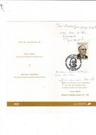 Document Vincent Auriol Président De La République 1947-1954 Dédicacé Par Son Fils Paul Auriol Et Jacqueline Auriol - Covers & Documents