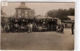 59-JEUMONT LA PLACE DE LA REPUBLIQUE- CAFE -RESTAURANT- ANIMEE - Jeumont