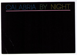 CALABRIA BY NIGHT - Black Humor, Bei Nacht / By Night  / La Nuit, Ref #BN1179 - Zonder Classificatie