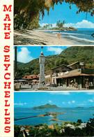 CPSM Seychelles-Mahé-Multivues-Beau Timbre    L676 - Seychelles