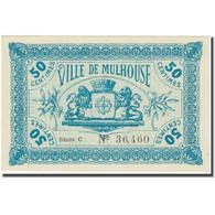 France, Mulhouse, 50 Centimes, 1918, Emission Municipale, NEUF, Pirot:68-291 - Bons & Nécessité
