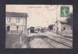 Rare Boisset Le Cerizet (42) La Gare  (  Chemin De Fer Train 46804) - Sonstige Gemeinden