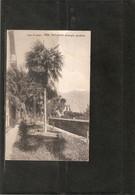 ITALIE . VILLA SERBELLONI . LAC DE COME .LE JARDIN . 1911 . TIMBRE 77 . - Como
