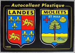 Blason Adhesif Moliets Ecusson Autocollant - Altri Comuni