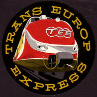 Train - Trans Europ Express - Reclame