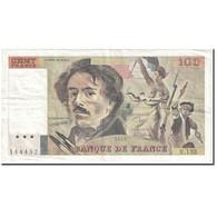 France, 100 Francs, 1989, Undated (1989), B, KM:154d - 100 F 1978-1995 ''Delacroix''