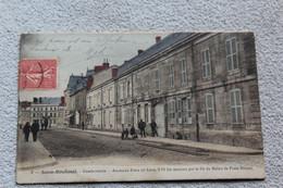 Cpa 1907, Sainte Menehould, Gendarmerie, Ancienne Poste, Marne 51 - Sainte-Menehould