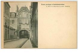 75.PARIS.4 Eme Arr.n°251.ECOLE PRATIQUE D'ADMINISTRATION.3 RUE DE BRETONVILLIERS - Distretto: 04
