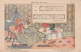CARTE ILLUSTRATEUR.H. BOUTET. POUR LA PHOSPHATINE FALIERES     AINSI FONT, FONT,FONT,        N° 18 - Musica E Musicisti