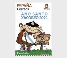 Spanje / Spain - Postfris / MNH - Xacobeo Jaar 2021 - 2011-... Nuovi & Linguelle