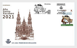 Spanje / Spain - Postfris / MNH - FDC Xacobeo Jaar 2021 - 2011-... Nuovi & Linguelle