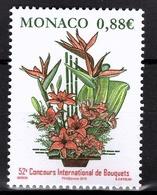 MONACO 2019 - Y.T. N° 3174 /  CONCOURS INTERNATIONAL DE BOUQUETS  - NEUF ** - Nuovi