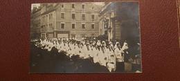 Ancienne Carte Postale Photographie - Religieux - Curées , Nones - Unclassified