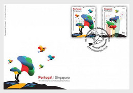 Portugal - Postfris / MNH - FDC Joint-Issue Met Singapore 2021 - Unused Stamps