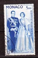 Monaco PA  76 Couple Princier Oblitéré Used   Cote 38 - Airmail