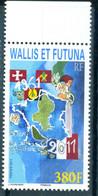 Wallis & Futuna 2011 50Y Territorial Status 1v MNH - Unused Stamps