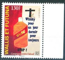 Wallis & Futuna 2011 Anti Alcohol Campaign 1v MNH - Unused Stamps