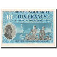 France, Bon De Solidarité, 10 Francs, 1941, SPL+ - Bons & Nécessité