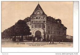 REF14.307   PARIS XIX°  FONDATION OPHTALMOLOGIQUE DE ROTHSCHILD   RUE MANIN - Arrondissement: 19