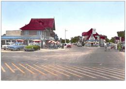 14 . N° 44480 . Hermanville La Breche . Route De Lion . Voiture Ds. Vue Generale . Cpsm  14 X 9 Cm. - Andere Gemeenten
