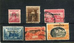 Philippines 1936 Yt 272 274 276 278 281-282 - Philippinen