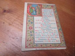 Heiligenprentje - Images Religieuses