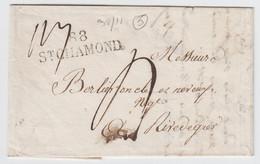 LOIRE LAC 1824    88/ ST CHAMOND   SUPERBE - 1801-1848: Precursors XIX