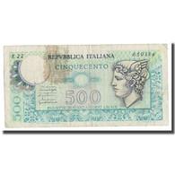 Billet, Italie, 500 Lire, 1976, 1976-12-20, KM:95, B+ - 500 Liras