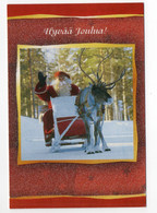 MODERN !! POSTCARD - 15 X 10.5 Cm. - FINLAND - CHRISTMAS - SANTA CLAUS - USED 2005 - Kerstman